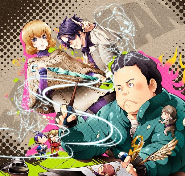 Tags: Anime, Nemusuke, Bakuman。, Fukuda Shinta, Niizuma Eiji, Takagi Akito, Aoki Yuriko, Mashiro Moritaka, Nakai Takuro, Fanart From Pixiv, Pixiv, Fanart, Ashirogi Muto