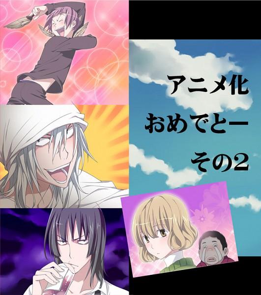 Tags: Anime, Bakuman。, Niizuma Eiji, Aoki Yuriko, Hiramaru Kazuya, Nakai Takuro, Fukuda Shinta