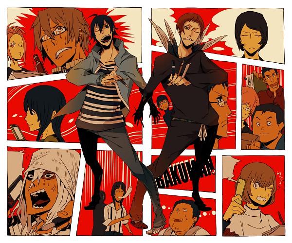 Tags: Anime, Bakuman。, Fukuda Shinta, Hattori Akira, Niizuma Eiji, Aoki Yuriko, Takagi Akito, Hiramaru Kazuya, Mashiro Moritaka, Azuki Miho, Nakai Takuro, Hattori Yujiro, Miyoshi Kaya