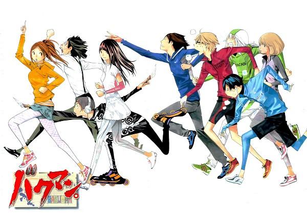 Tags: Anime, Obata Takeshi, Bakuman。, Miyoshi Kaya, Niizuma Eiji, Aoki Yuriko, Takagi Akito, Yoshida Kouji, Mashiro Moritaka, Hiramaru Kazuya, Azuki Miho, Fukuda Shinta, Scan