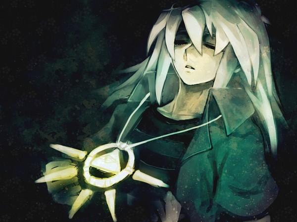 Tags: Anime, Yu-Gi-Oh!, Yu-Gi-Oh! Duel Monsters, Bakura Ryou, Millennium Ring, Fanart, Pixiv