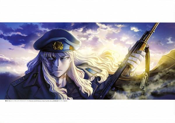 Tags: Anime, Hiroe Rei, Black Lagoon, Balalaika, Official Art, Scan