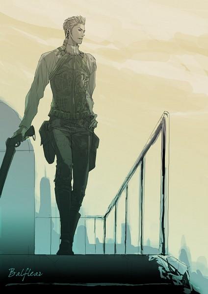 Tags: Anime, Nappy, Final Fantasy XII, Balthier, Shotgun, Pixiv, Mobile Wallpaper