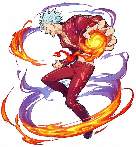Tags: Anime, studioking, Nanatsu no Taizai (Suzuki Nakaba), Boku & Dragons, Ban (Nanatsu no Taizai), Official Art