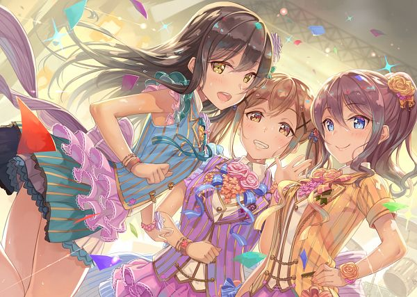 Tags: Anime, Terumii, BanG Dream!, Ichigaya Arisa, Yamabuki Saaya (BanG Dream!), Hanazono Tae
