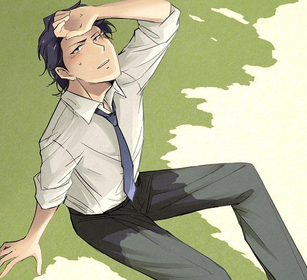 Tags: Anime, Pixiv Id 1012516, Kagewani, Banba Sousuke, Fanart, Fanart From Pixiv, Pixiv, Sousuke Banba