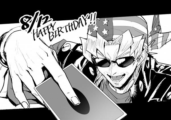 Tags: Anime, Pixiv Id 6620471, Yu-Gi-Oh! Duel Monsters, Yu-Gi-Oh!, Bandit Keith, Flag Print, Pixiv, Fanart From Pixiv, Fanart