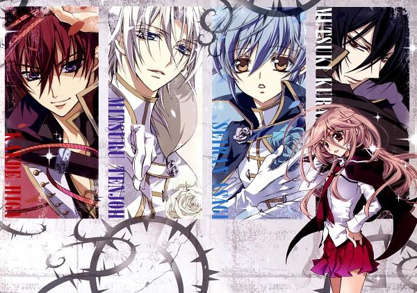 Tags: Anime, Shouoto Aya, Barajou no Kiss, Barajou no Kiss: Jewel's Rose, Kurama Mutsuki, Tenjou Mitsuru, Asagi Seiran, Yamamoto Anis, Higa Kaede, Brambles, Scan, Official Art