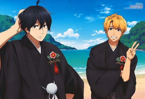 Tags: Anime, Kinema Citrus, Barakamon, Handa Seishuu, Kido Hiroshi, Official Art, Scan