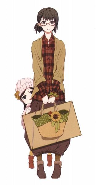 Tags: Anime, Yoshino Satsuki, Barakamon, Kubota Hina, Arai Tamako, Bundle, Official Art