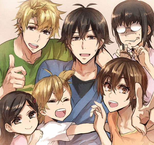 Tags: Anime, Jonasan, Barakamon, Kido Hiroshi, Kotoishi Naru, Yamamura Miwa, Handa Seishuu, Kubota Hina, Arai Tamako, Pixiv, Fanart, Fanart From Pixiv