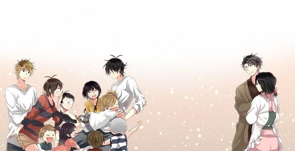 Tags: Anime, Hazuki (Pacco), Barakamon, Kotoishi Naru, Yamamura Miwa, Handa Seishuu, Daisuke (Barakamon), Kubota Hina, Handa Emi, Arai Tamako, Arai Akihiko, Kido Hiroshi, Oohama Kentarou