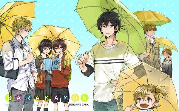 Tags: Anime, Yoshino Satsuki, Barakamon, Arai Tamako, Kido Hiroshi, Kazuma Higashino, Kotoishi Naru, Shin Yoshida, Handa Seishuu, Yamamura Miwa, Official Art, Official Wallpaper, Wallpaper