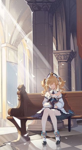 Tags: Anime, Pixiv Id 13167637, Genshin Impact, Barbara (Genshin Impact), Church