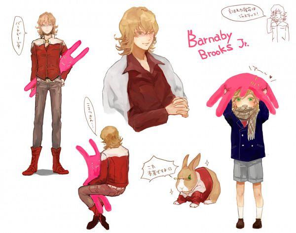 Tags: Anime, Naoki (Naifuku Jelly), TIGER & BUNNY, Barnaby Brooks Jr., Fanart, Pixiv, Character Sheet