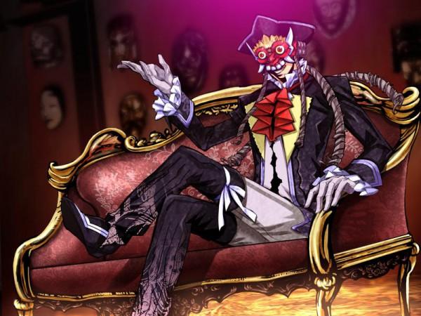 Tags: Anime, Shikkoku no Sharnoth -What a Beautiful Tomorrow-, Baron Munchhausen, CG Art