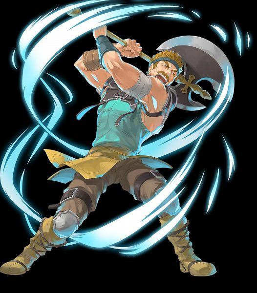 Tags: Anime, Okaya, Intelligent Systems, Fire Emblem Heroes, Bartr (Fire Emblem), Official Art, Bartre