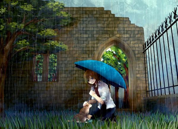 Tags: Anime, Katekyo Hitman REBORN!, Basilicum, Brick Wall