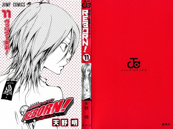 Tags: Anime, Amano Akira, Katekyo Hitman REBORN!, Basilicum, Scan, Official Art, Manga Cover