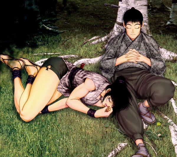 Tags: Anime, Basilisk, Okoi (Basilisk), Kisaragi Saemon