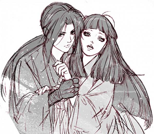 Tags: Anime, Basilisk, Hotarubi, Yashamaru, Grabbing Hand, Fanart, Artist Request