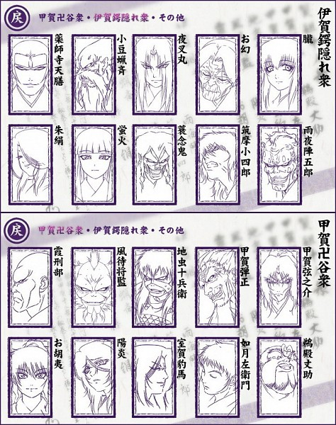 Tags: Anime, Segawa Masaki, GONZO (Studio), Basilisk, Ogen, Kouga Danjo, Akeginu, Kasumi Gyobu, Kazamachi Shogen, Kagero, Kisaragi Saemon, Mino Nenki, Azuki Rousai