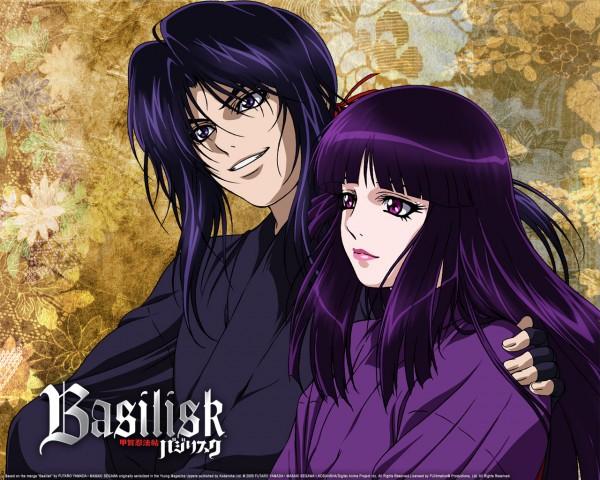 Tags: Anime, GONZO (Studio), Basilisk, Yashamaru, Hotarubi, Official Art, Wallpaper
