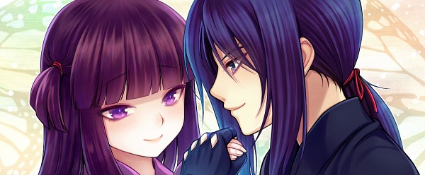 Tags: Anime, Byuune, Basilisk, Yashamaru, Hotarubi, Facebook Cover