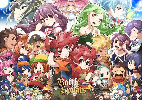 Tags: Anime, Tekin, Battle Spirits, Magisa, Revolver West, Rugain, Zungurii, Stella Korabelishchikov, Jin (Battle Spirits), Veneld, Serge (Battle Spirits), Pantera (Battle Spirits), Duc