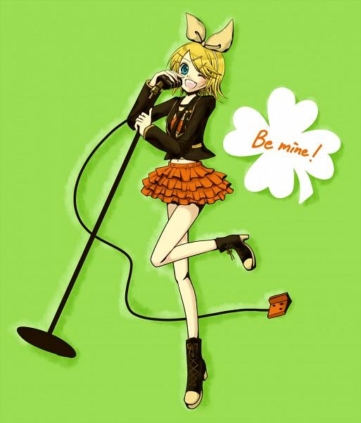 Tags: Anime, Yuzuri829, VOCALOID, Kagamine Rin, Pixiv, Fanart, Be Mine!