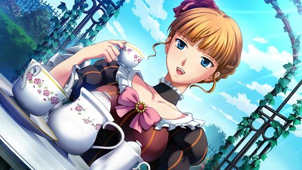 Tags: Anime, Ekusa Takahito, Alchemist (Studio), Umineko no Naku Koro ni, Beatrice, Umineko no Naku Koro ni ~ Majo to Suiri no Rondo ~, Wallpaper, CG Art, HD Wallpaper