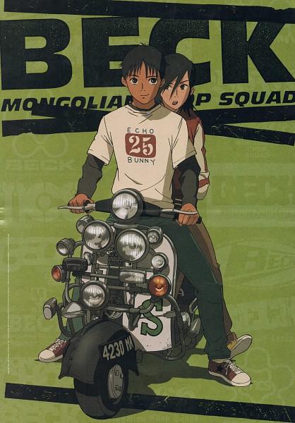 Tags: Anime, Sakuishi Harold, Beck, Minami Maho, Tanaka Yukio, Official Art