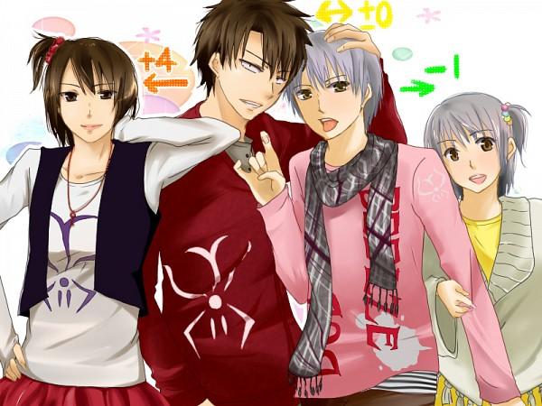 Tags: Anime, Pixiv Id 747407, Beelzebub, Oga Tatsumi, Oga Misaki, Furuichi Takayuki, Furuichi Honoka, Pixiv, Fanart From Pixiv, Fanart