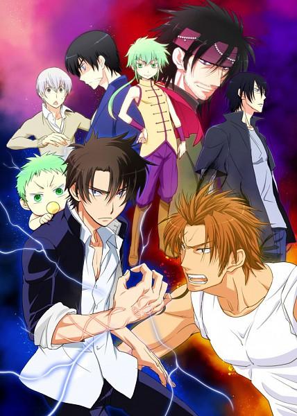 Tags: Anime, Pixiv Id 340743, Beelzebub, Miki Hisaya, Oga Tatsumi, Toujou Hidetora, Furuichi Takayuki, Baby Beel, Lord En, Poster (Object), Mobile Wallpaper, Pixiv