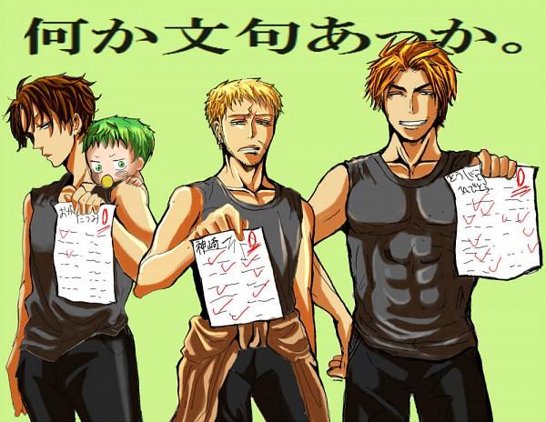 Tags: Anime, Beelzebub, Toujou Hidetora, Kanzaki Hajime, Baby Beel, Oga Tatsumi, Test, Pixiv