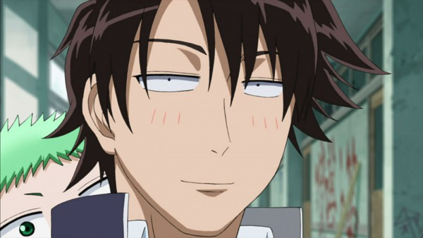 Tags: Anime, Beelzebub, Baby Beel, Oga Tatsumi, Screenshot