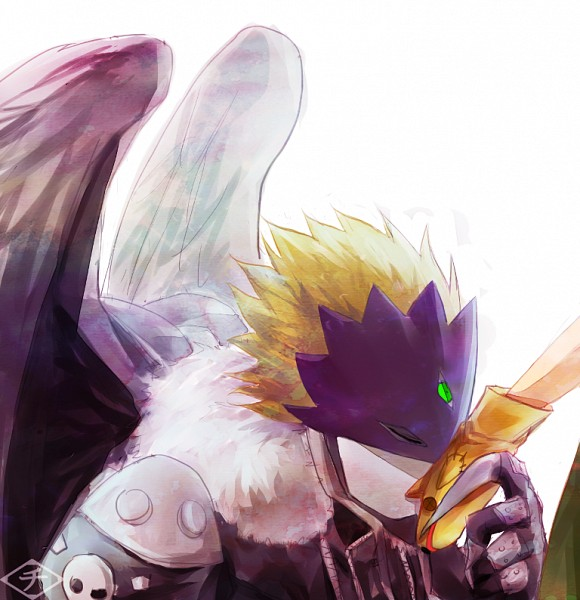 Tags: Anime, Pixiv Id 1593006, Digimon Tamers, Beelzemon, Katou Juri, Boton