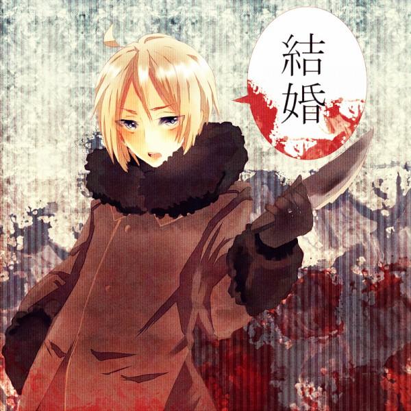 Tags: Anime, Kanji (Bekoji), Axis Powers: Hetalia, Belarus (Male), Nyotalia, Soviet Union
