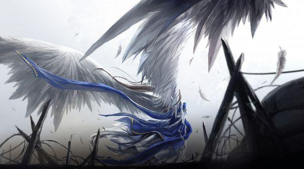 Tags: Anime, KzcJimmy, Aah! Megami-sama, Belldandy, Facebook Cover, Fanart, Pixiv