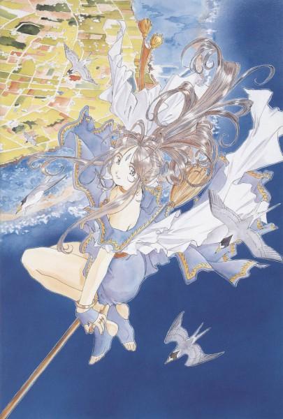 Tags: Anime, Fujishima Kousuke, Aah! Megami-sama, Belldandy, Artist Request