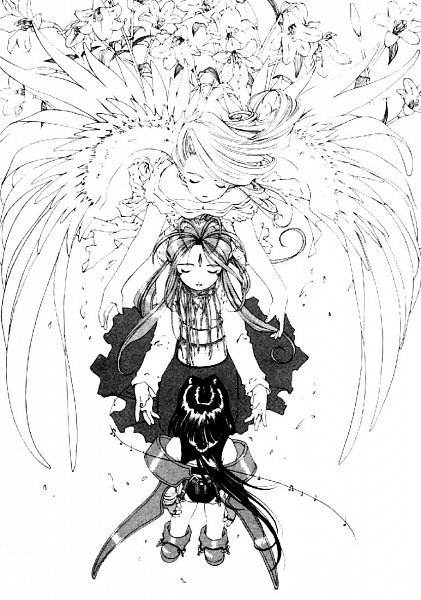 Tags: Anime, Aah! Megami-sama, Holy Bell, Peorth, Belldandy, Artist Request