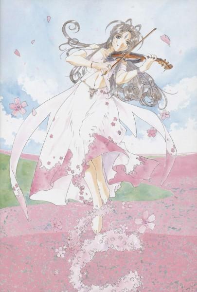 Tags: Anime, Fujishima Kousuke, Aah! Megami-sama, Belldandy, Official Art