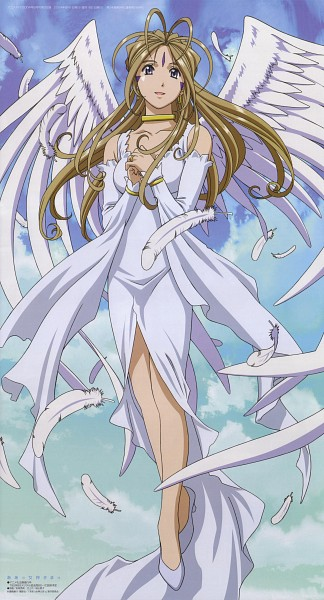 Tags: Anime, Anime International Company, Aah! Megami-sama, Belldandy, Wedding Ring, Artist Request, Mobile Wallpaper, Official Art, Studio Request
