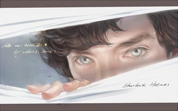 Tags: Anime, .Axis., Sherlock Holmes, Sherlock BBC, Sherlock Holmes (Character), Benedict Cumberbatch (Actor), Fanart
