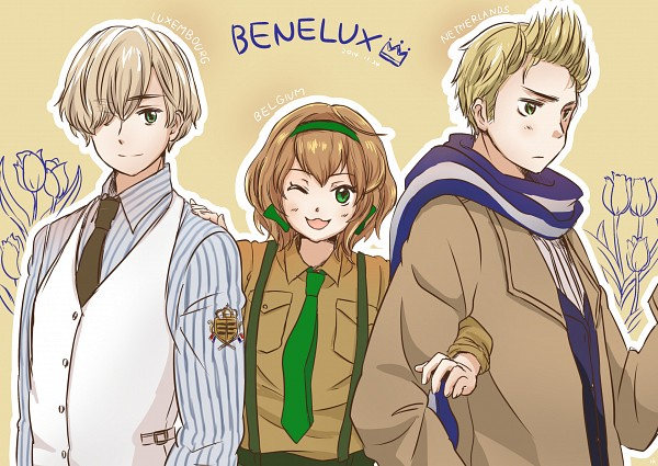 Benelux - Axis Powers: Hetalia