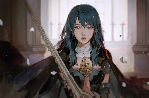 Tags: Anime, Jiayue Wu, Fire Emblem: Fuuka Setsugetsu, Beres (Fire Emblem), Pixiv, Fanart, Fanart From Pixiv, Byleth (female) (fire Emblem)