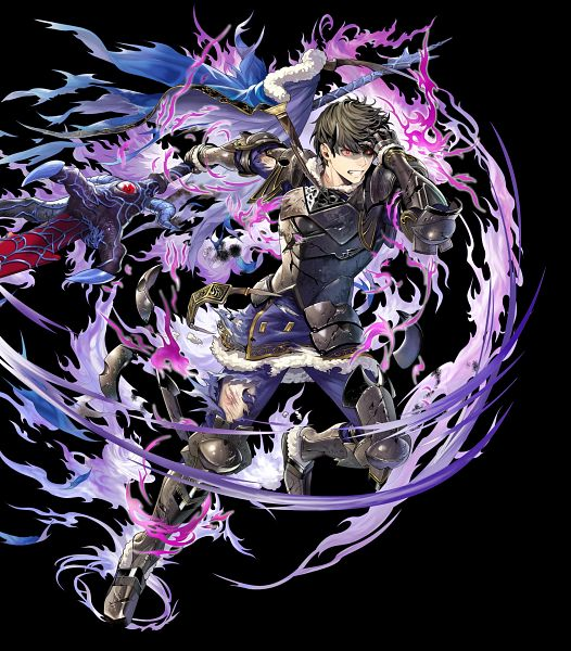 Tags: Anime, Anemonade, Intelligent Systems, Fire Emblem Heroes, Berkut (Fire Emblem), Official Art