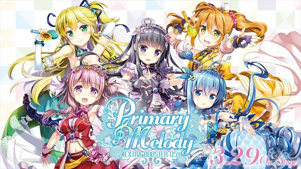 Tags: Anime, Bermuda Triangle: Colorful Pastrale, Fina (Colorful Pastrale), Kanon (Colorful Pastrale), Sonata, Caro, Serena (Colorful Pastrale), Official Art