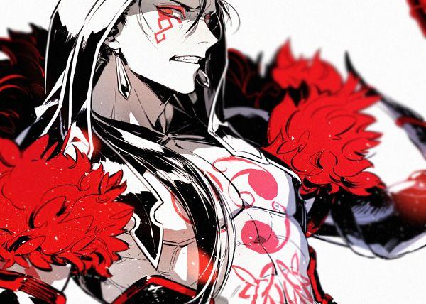 Tags: Anime, minato.666, Fate/Grand Order, Lancer (Fate/stay night), Berserker (Cú Chulainn Alter), Fanart, Fanart From Pixiv, PNG Conversion, Pixiv