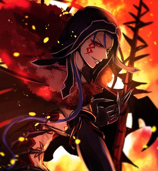 Tags: Anime, Pixiv Id 20681587, Fate/Grand Order, Lancer (Fate/stay night), Berserker (Cú Chulainn Alter), Fanart From Pixiv, Pixiv, Fanart